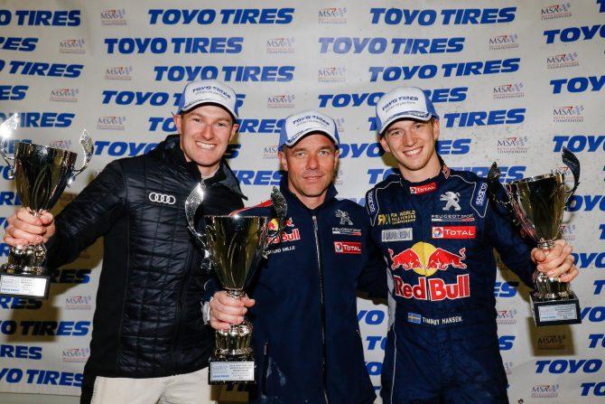 Silverstone podium