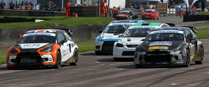 The 2018 Toyo Tires MSA British Rallycross Championship will include nine events run over eight weekends, starting and finishing at Silverstone's new rallycross circuit.