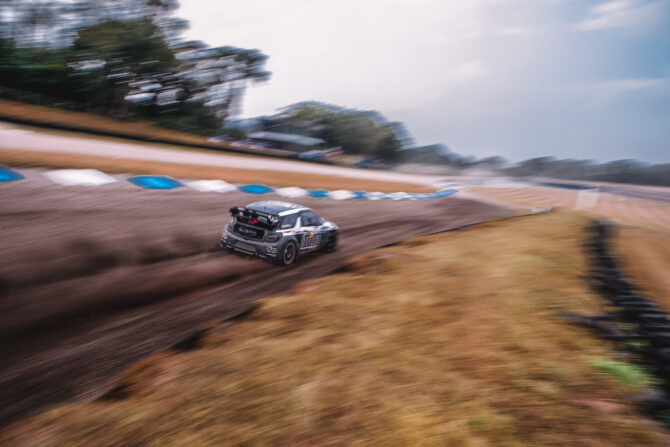 Mark Donnelly at Lydden Hill testing