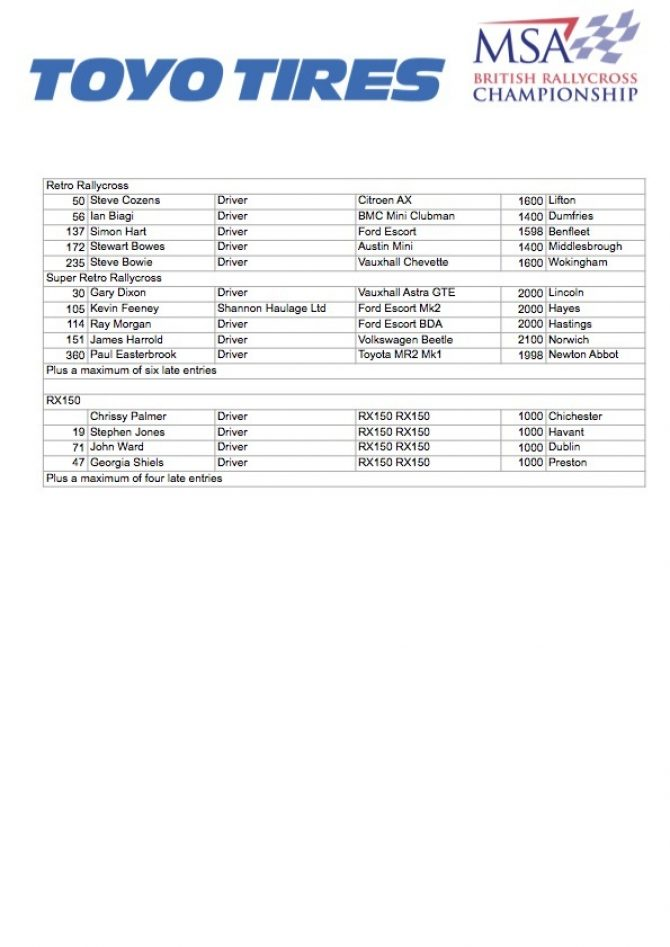 Silverstone Entry 3
