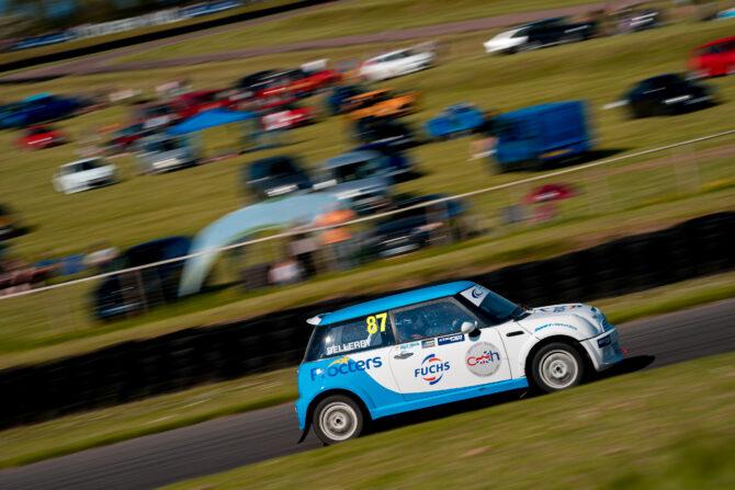 Dave Bellerby in the Bellerby Motorsport BMW Mini
