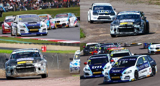Newly crowned Toyo Tires MSA British Rallycross Champion Nathan Heathcote will trade seats with 2017 MSA British Touring Car Champion Ash Sutton at Lydden Hill next Saturday (November 4).