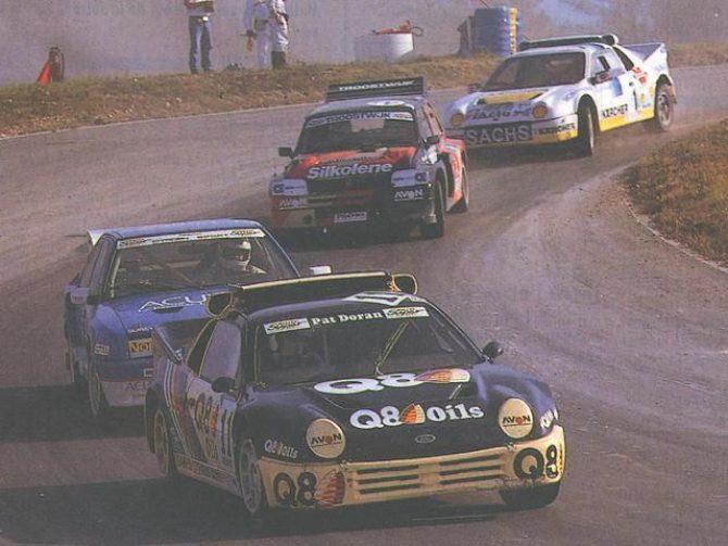 Pat Doran and the RS200