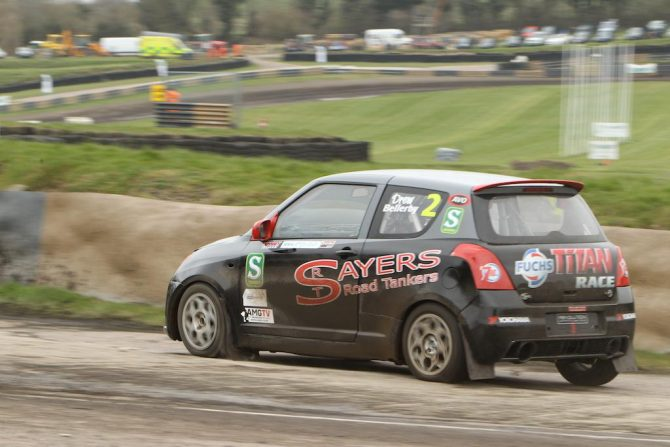 Drew Bellerby at Lydden