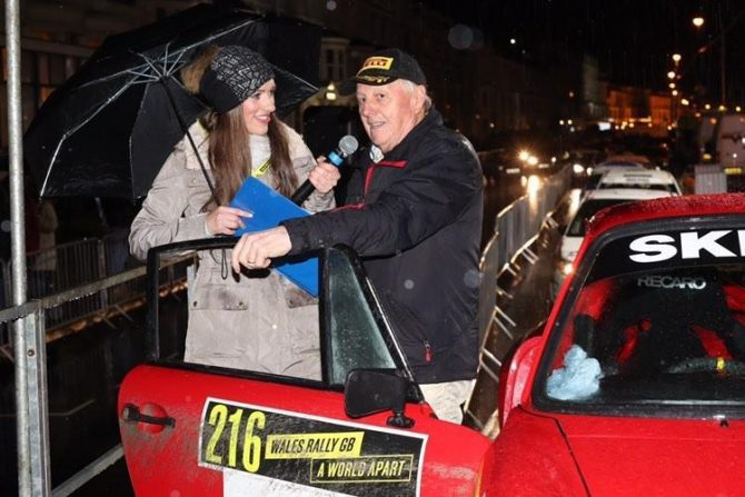 Annalese and Jimmy McRae