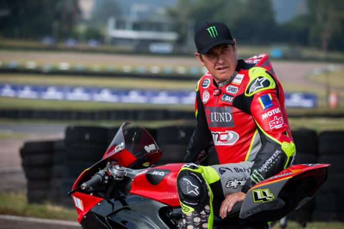 John McGuinness - switching from two wheels to four for Lydden Hill BRX